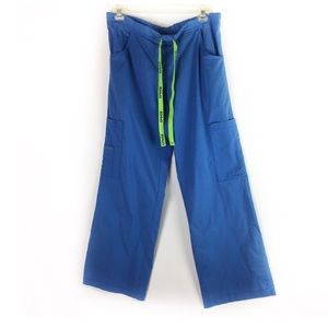 CROCS | scrub pants drawstring blue Sm